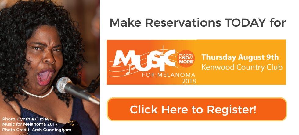 Register NOW for Music for Melanoma 2018