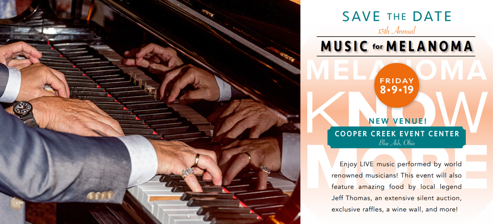 Save the Date – Music for Melanoma